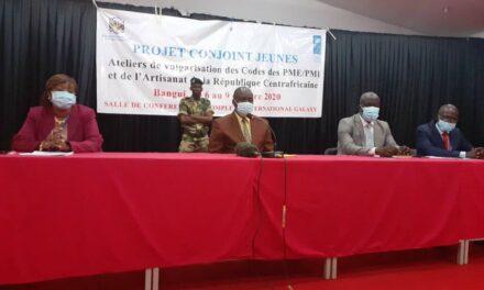 Centrafrique : Les Lois portant code des PME/PMI  et l'Artisanat désormais vulgarisées