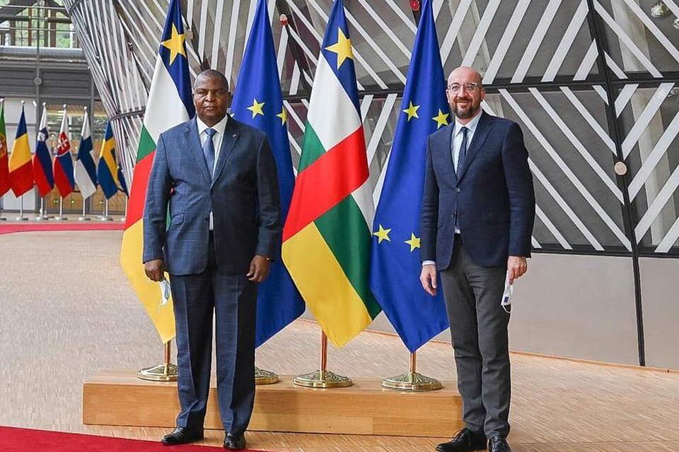 UE-RCA: Le Président Touadera rencontre à Bruxelles le Président du Conseil européen, Charles Michel