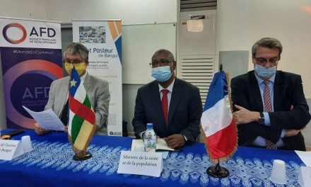 Centrafrique : L'AFD apporte une nouvelle subvention de 800.000 euros à l'Institut Pasteur de Bangui
