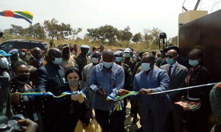 Centrafrique : Le 1er dépôt régional de munitions est opérationnel à Bouar