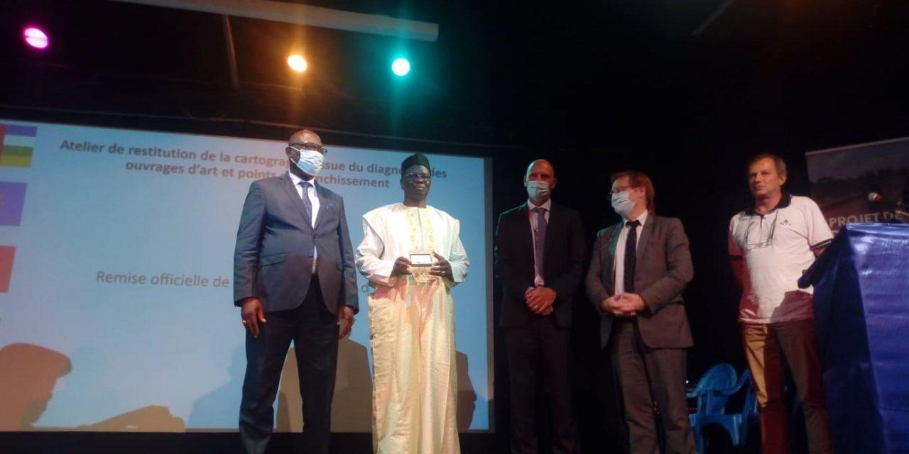 Centrafrique : Le gouvernement reçoit de l'expertise France la cartographie des ouvrages d'arts