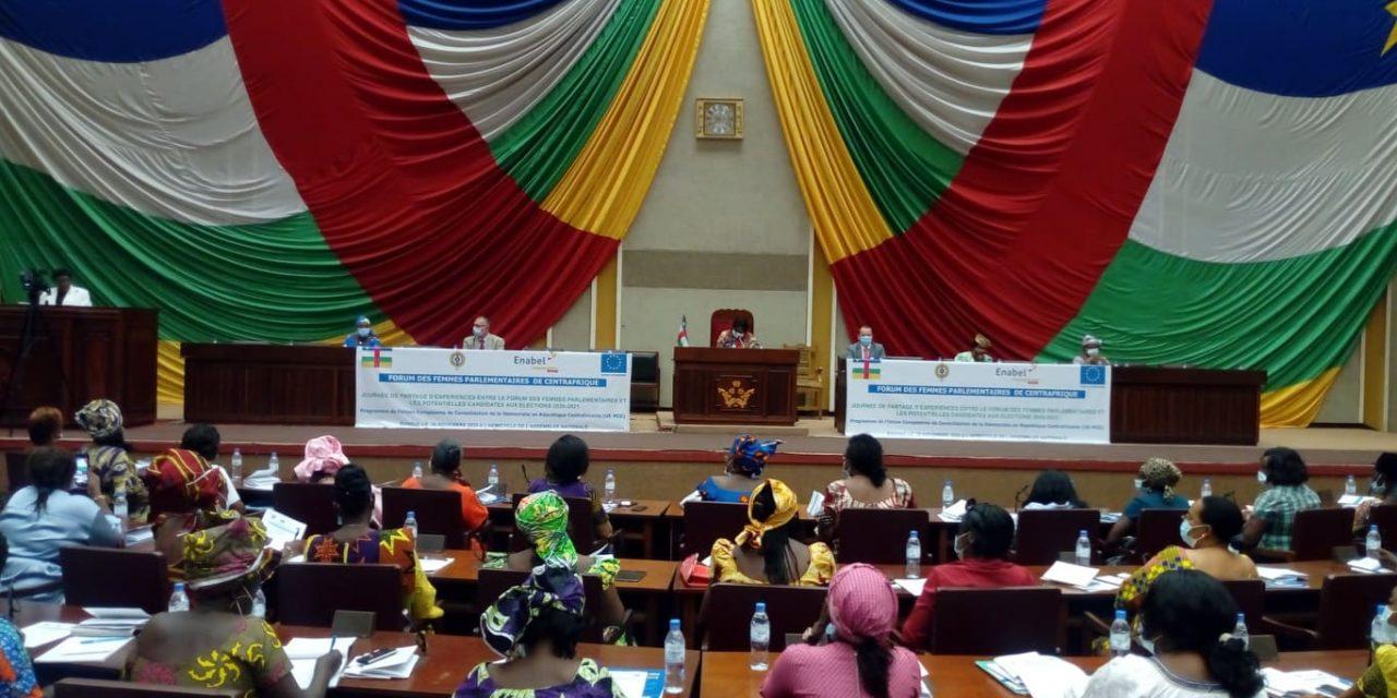 Centrafrique : Femmes députés et candidates partagent leurs expériences