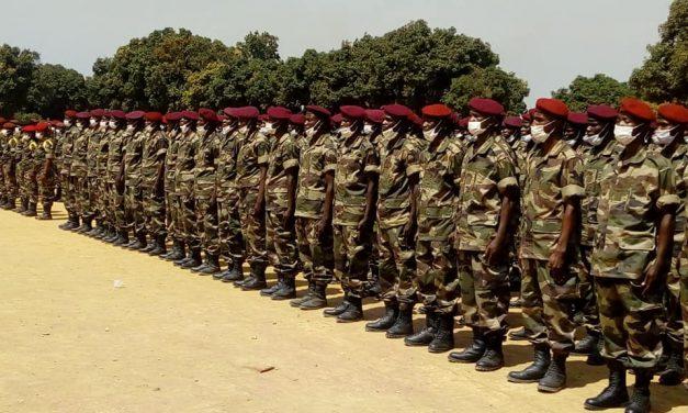 Centrafrique : 578 FACA bouclent leurs formations à Bouar