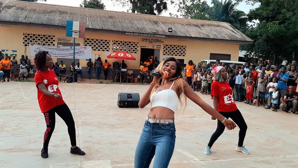 Ces artistes qui font bouger autrement les lignes en  Centrafrique
