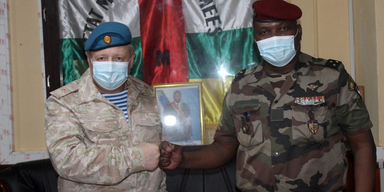 Centrafrique-Russie : Une coopération militaire qui se renforce ?