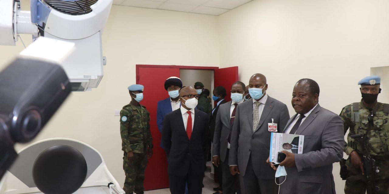 La Centrafrique se dote des premiers centres d'Imagerie Médicale et d'Hémodialyse