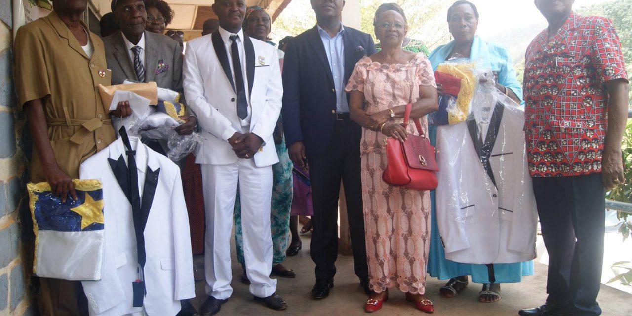 Centrafrique: HMD Fondation fait un don aux chefs des quartiers du 1èr Arrondissement