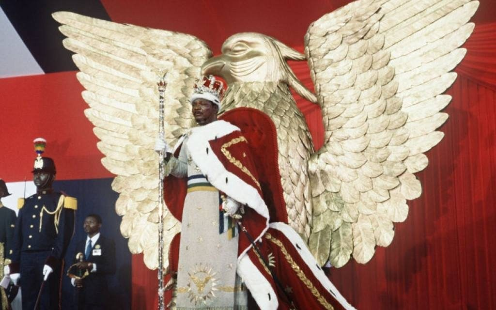 Centrafrique : Il y a 43 ans, le couronnement de l'empereur Bokassa