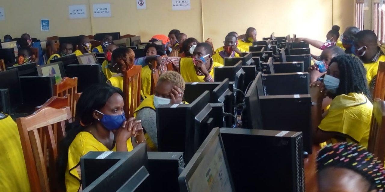 Centrafrique : Reportage au centre de traitement des données électorales