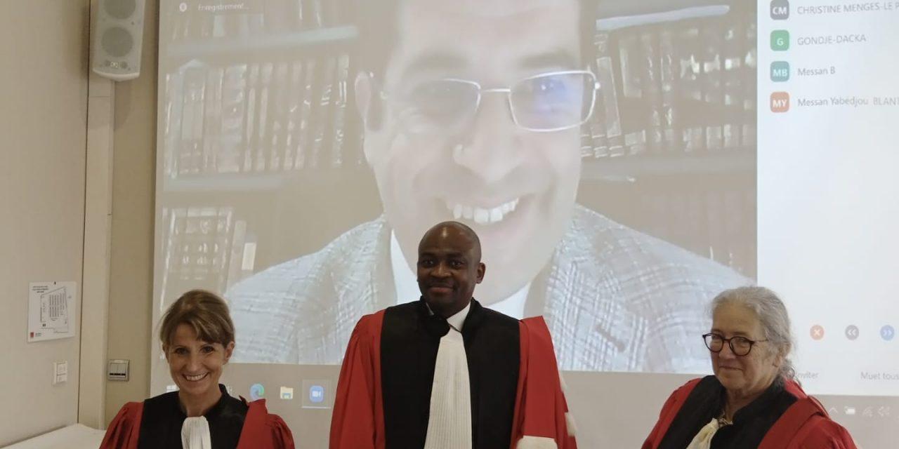 Centrafrique : Godfroy-Luther Gondje-Djanayang, nouveau docteur en droit public