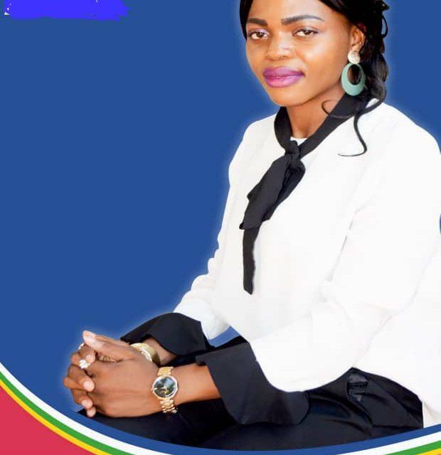 Jeune et candidate à la députation : Abiali Mamboui Arletta pour l'autonomisation des jeunes et des femmes