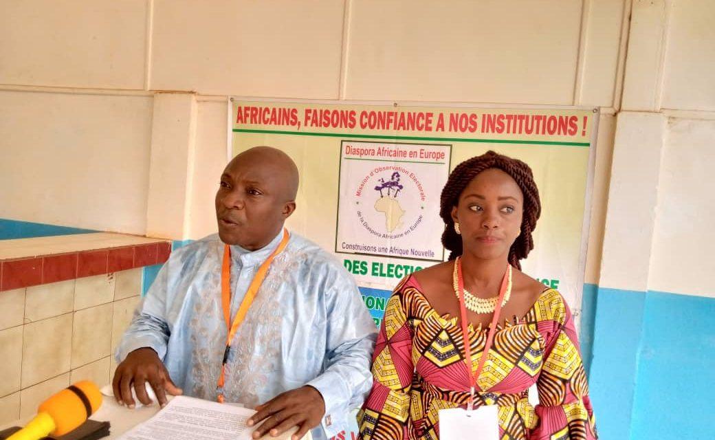 La mission de l'observation électorale de la diaspora Africaine appelle à la tenue d'une élection apaisée