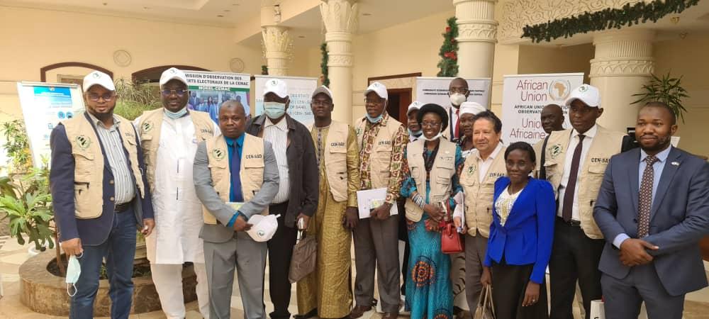 Centrafrique : La mission d'observation électorale de la CEN-SAD arrive à Bangui
