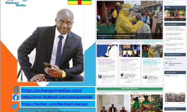 Lancement de l'entreprise Oubangui Médias