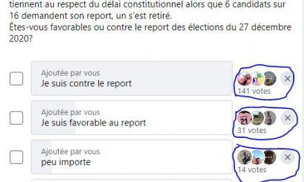 Centrafrique : Des internautes contre le report des élections du 27 décembre 2020