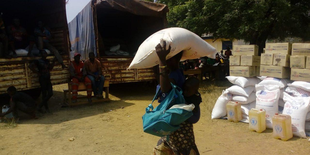 Centrafrique : Le PAM assiste plus de 2000 déplacés de Liton sur la route de Damara