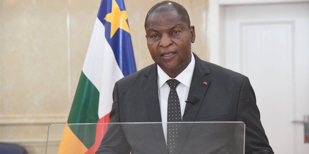 Centrafrique : « Nous sommes en guerre », déclare le président Touadera