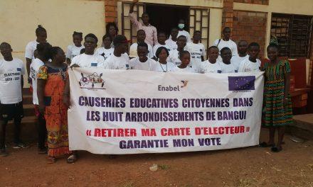 Centrafrique : OJLD se félicite de sa contribution au processus électoral