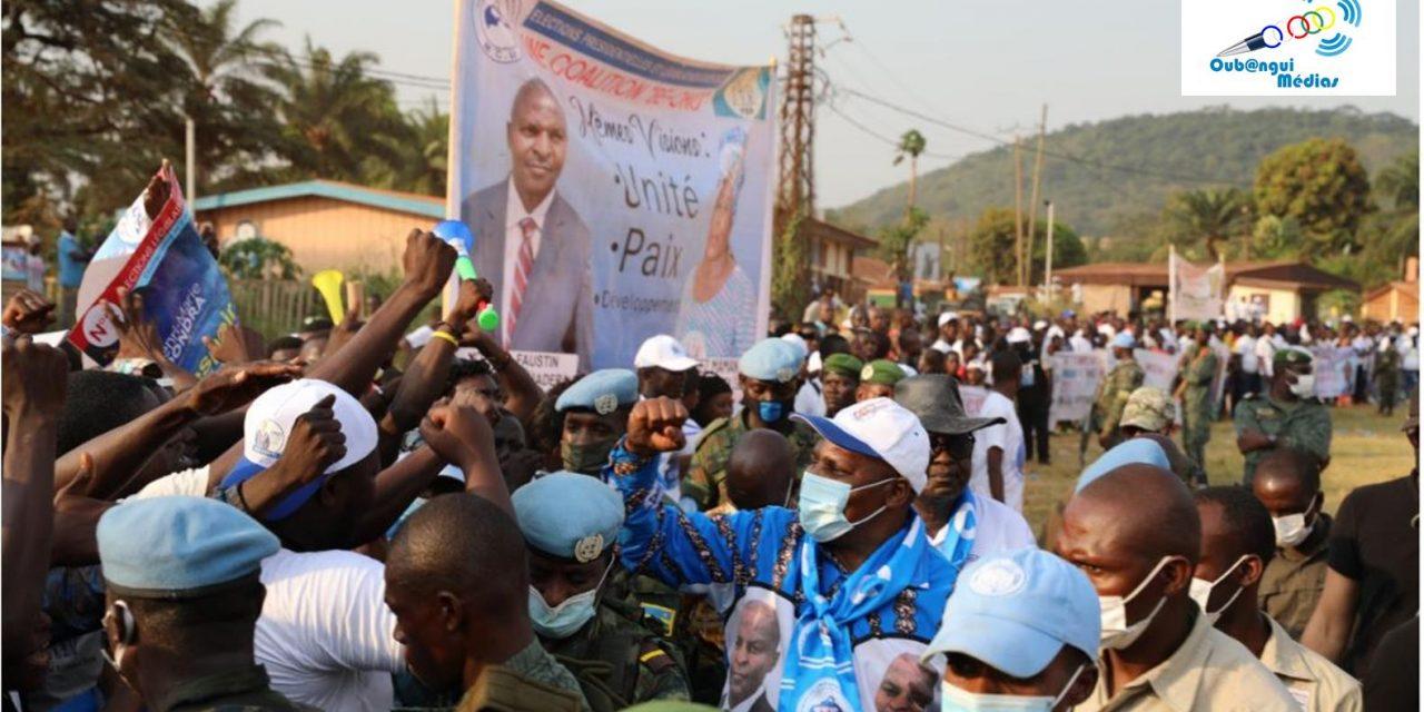 Centrafrique : Touadera réélu au premier tour à 53,92% des voix