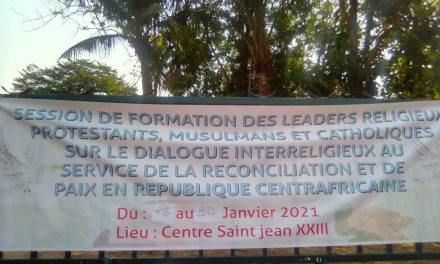 Centrafrique : Des leaders religieux à l'école du dialogue au service de la réconciliation