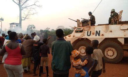 Centrafrique : Manifestation à Bangassou pour demander le départ des casques bleus marocains