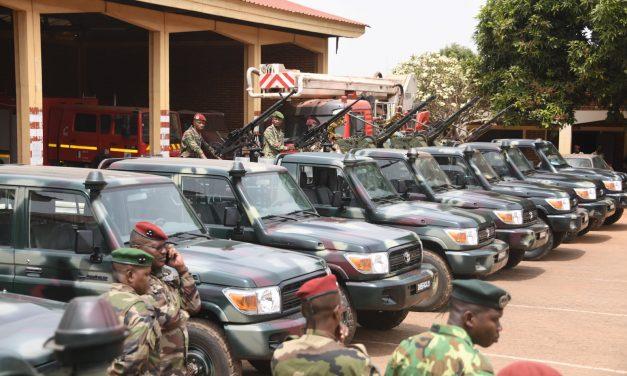 Centrafrique : Des nouveaux véhicules de combat remis aux FACA
