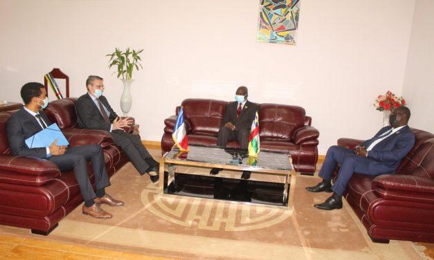 Centrafrique : L'ambassade de France et l'assemblée nationale échangent sur la désinformation