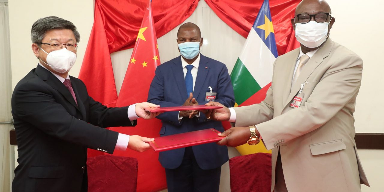 La Centrafrique et la Chine signent un accord commercial de plus de 12 milliards FCFA