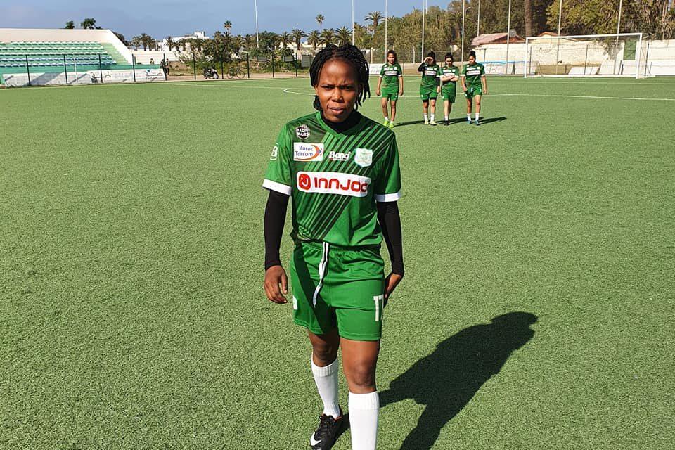 Christelle Demba devient la première footballeuse professionnelle centrafricaine