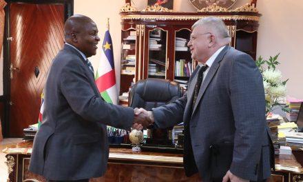 La Russie réaffirme son soutien militaire à la Centrafrique