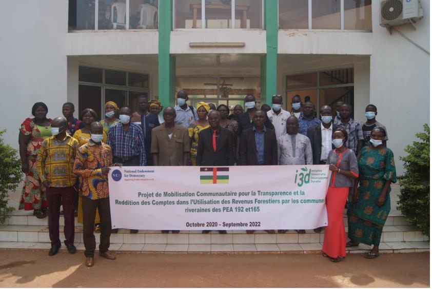 Centrafrique : L'ONG I3D lance un projet pour la transparence des revenus forestiers dans la commune de Bimbo