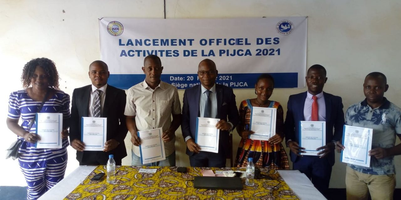 Centrafrique : La PIJCA fait son bilan et projette l'année 2021