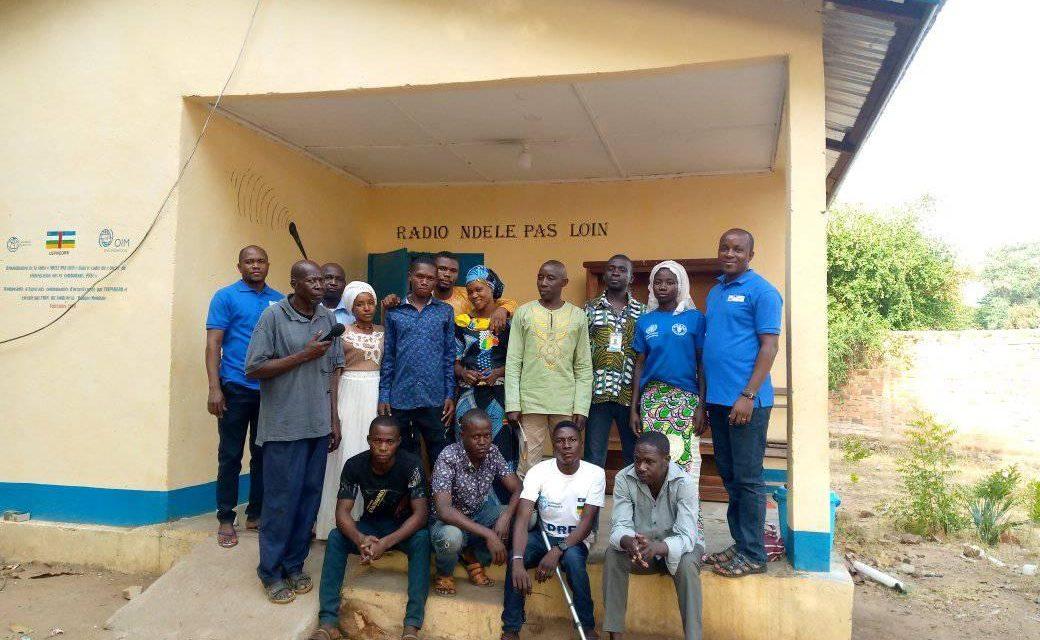 Centrafrique : La radio communautaire « Ndélé Pas Loin » reprend ses programmes