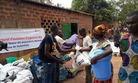 Centrafrique : NRC assiste 228 ménages déplacés à Bangui