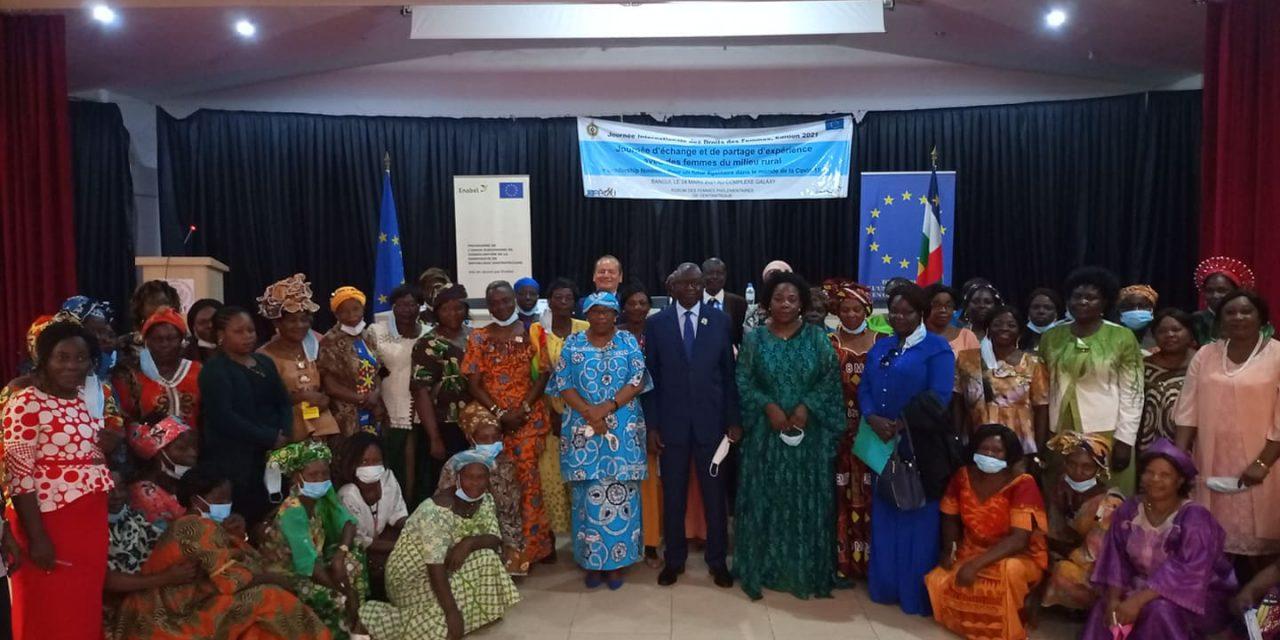Rencontre d'échanges entre femmes parlementaires et femmes issues du milieu rural