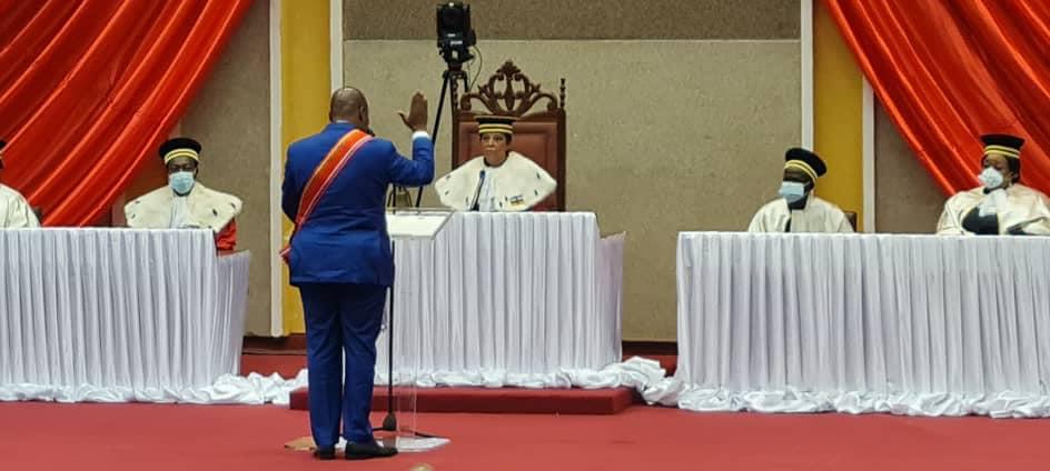 Le Président Touadera investi sur fonds de plusieurs défis