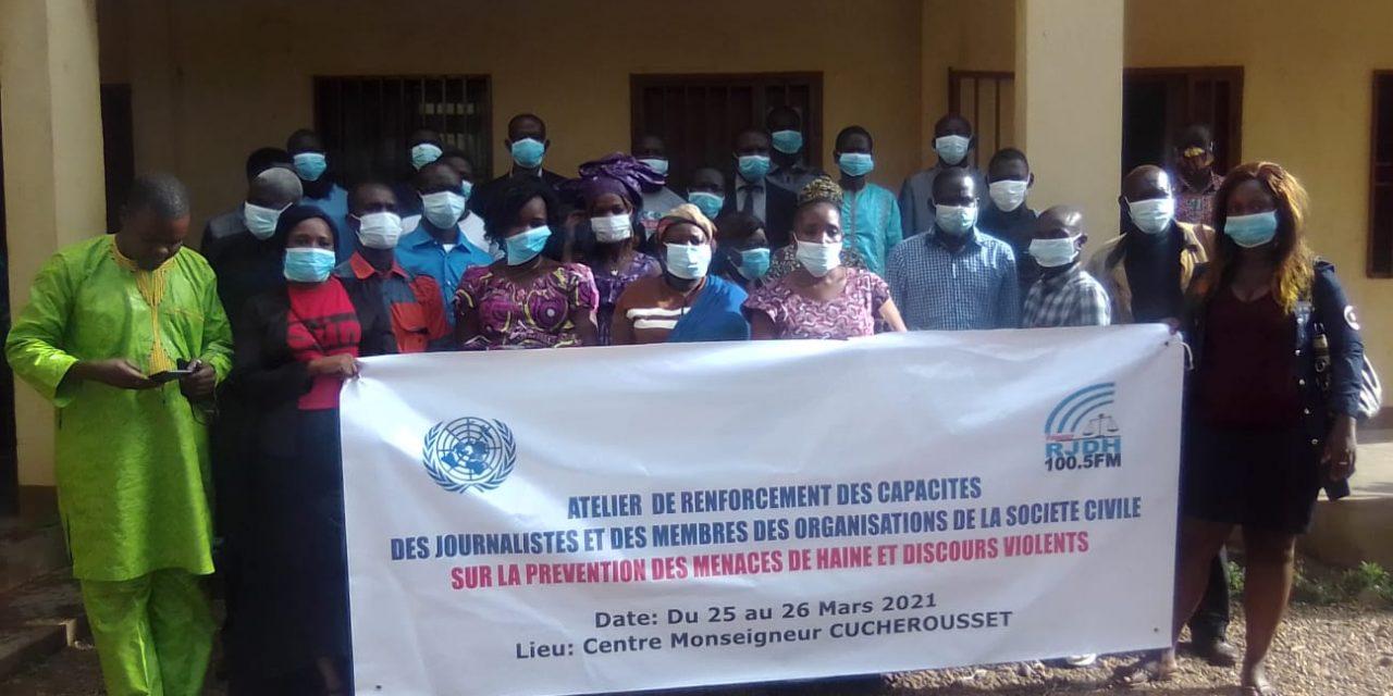 Centrafrique : Le RJDH mobilise des journalistes et acteurs de la société civile contre les messages de haine