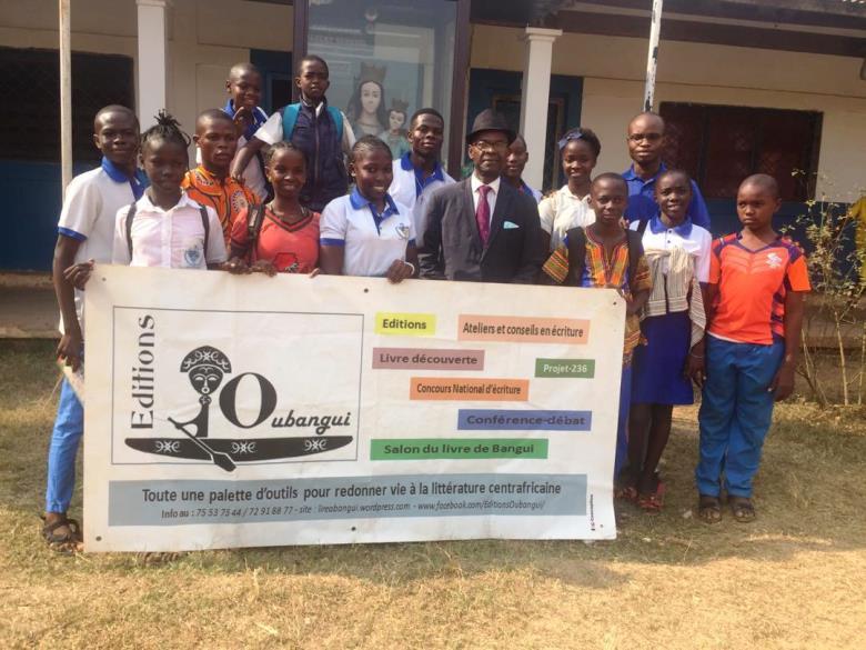 Rencontre littéraire avec les élèves du Lycée Don Bosco