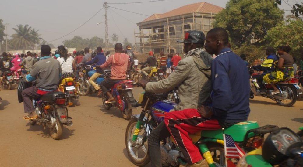 Centrafrique : Les Taximotos reprennent officiellement leurs activités