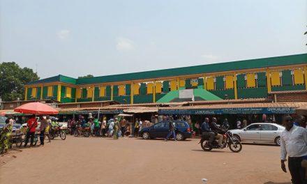 Centrafrique : Reconstruction prochaine du marché centrale de Bangui