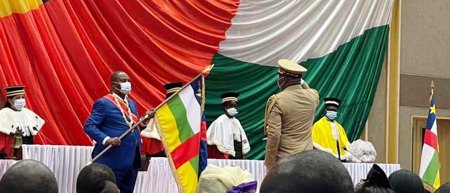 Temps forts de l'investiture du président Touadera