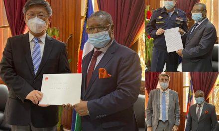 Visibilité diplomatique autour du vaccin Covid-19 en Centrafrique