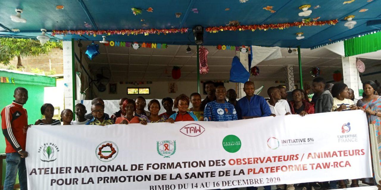 Centrafrique : 30 pairs éducateurs en fin de session sur les droits des patients