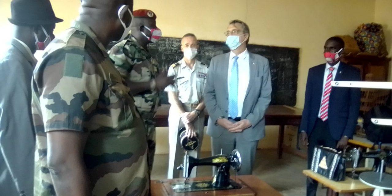 Centrafrique : L'ambassade de France explore des pistes pour un appui à la JPN