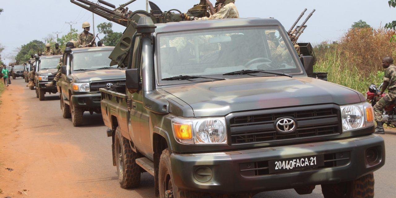 Centrafrique : Les enjeux de l'offensive des FACA vus par le Centre Rhipto-Norvégien
