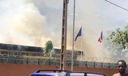 Centrafrique : Un incendie à l'Ambassade de France à Bangui