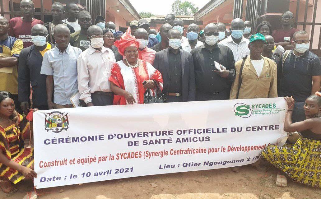 Un nouveau centre de santé est créé dans le 8e arrondissement de Bangui