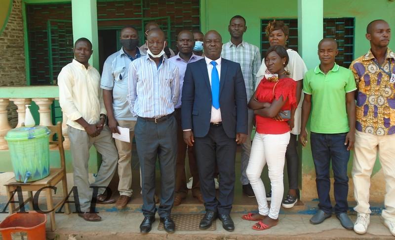 Centrafrique: Présentation du document « Contribution Déterminée Nationale »