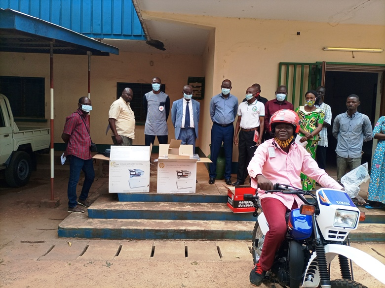 Centrafrique : Dons du CICR aux  trois structures du ministère de l'agriculture
