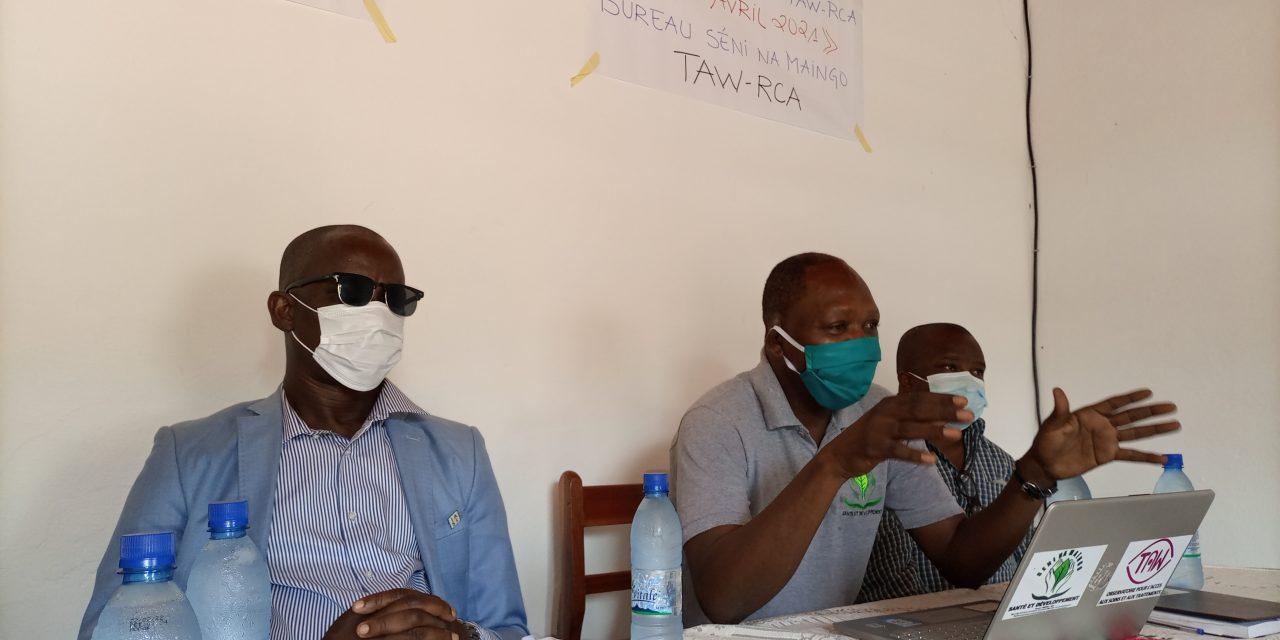 L'ONG Seni Na Maïngo présente le rapport d'observation TAW dans les prisons